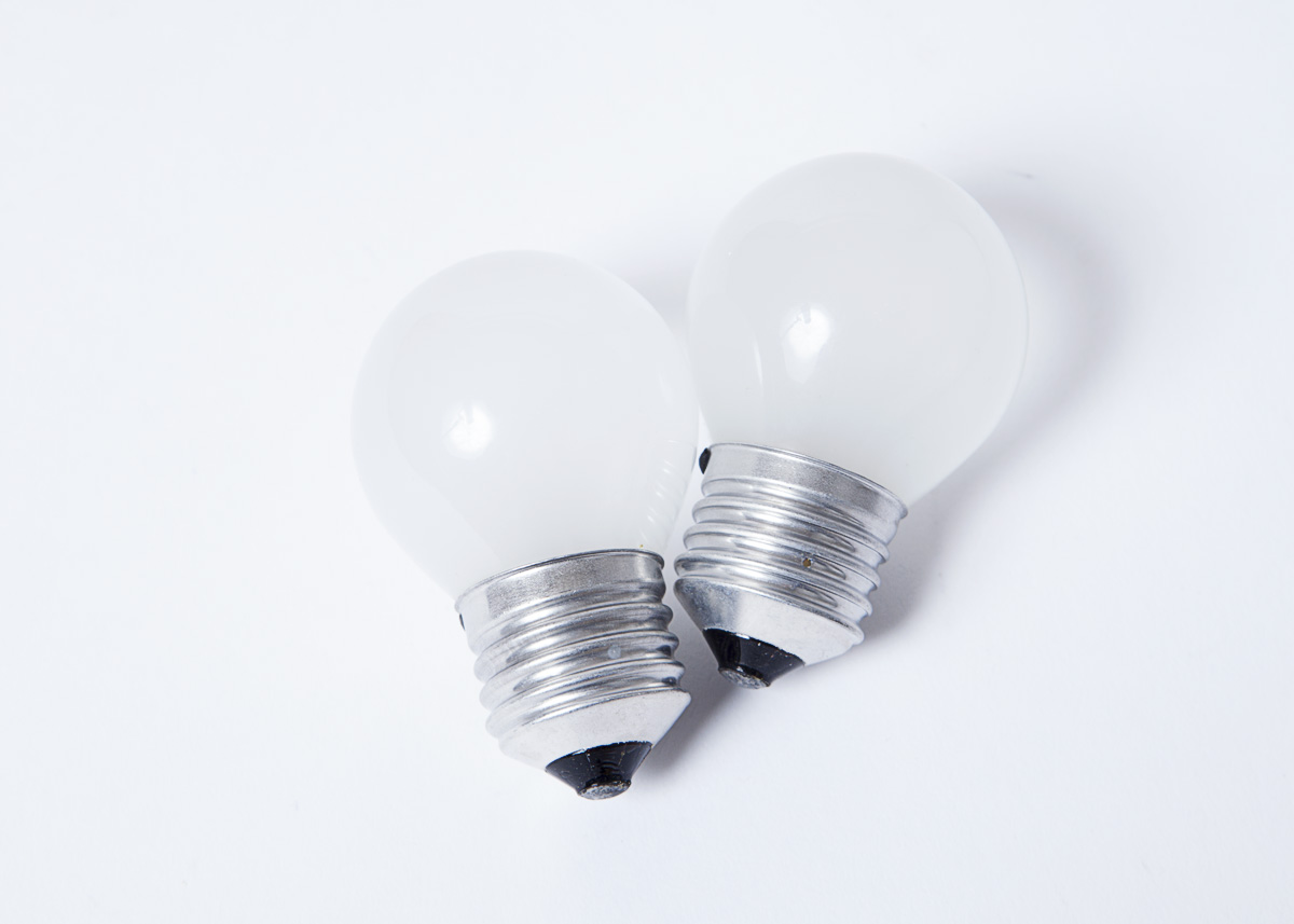 2 X 25 Watt E27 Es Bulbs