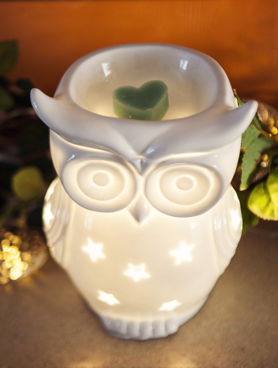 187 Snowy Owl Wax Warmer