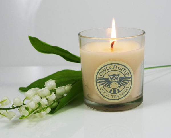 Lily of the valley 150g candle