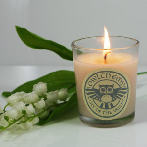 lily of the valley 75g candle