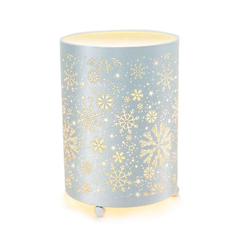 Snowfall wax warmer