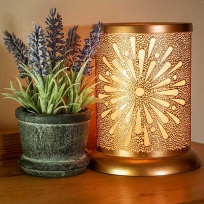 Sunburst wax warmer roomset