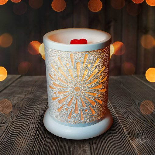 Our White Starburst Wax Melt Warmer