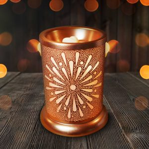 Our Rose Gold Sunburst Electric Wax Melt Warmer