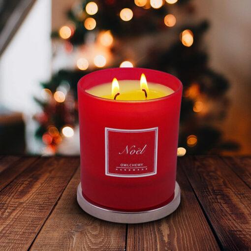 noel luxury candle