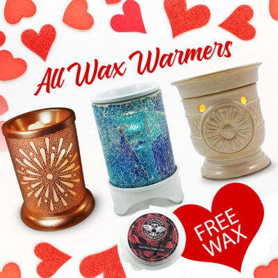 valentines gift idea sale on wax warmer lamps